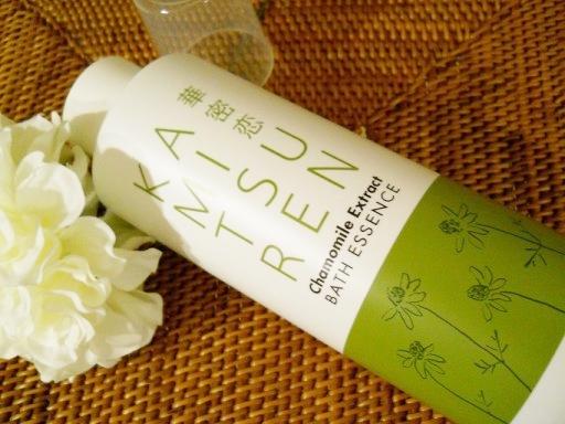 華密恋(かみつれん)のカモミール入浴剤累計300万本販売!日焼けや乾燥が気になる秋にぴったり
