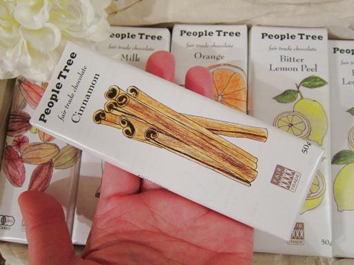 People Tree オーガニックチョコレート2014年