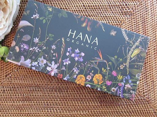 HANAオーガニックトライアル4点セット、改めてのご紹介 バイオエコリアで進化するオーガニックコスメ