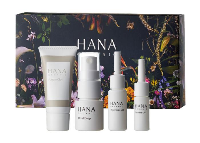 HANAオーガニックトライアルセット6月22日から発売開始!バイオエコリアで進化する新しいHANAの製品に注目